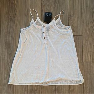 Chaser White Tank Top New